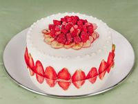 Torta fragole Bologna