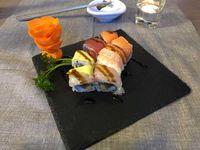 Mangiare sushi a Bra
